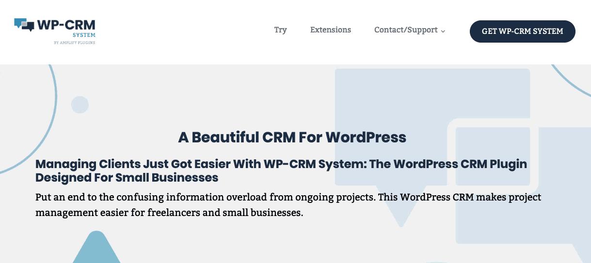 WP-CRM