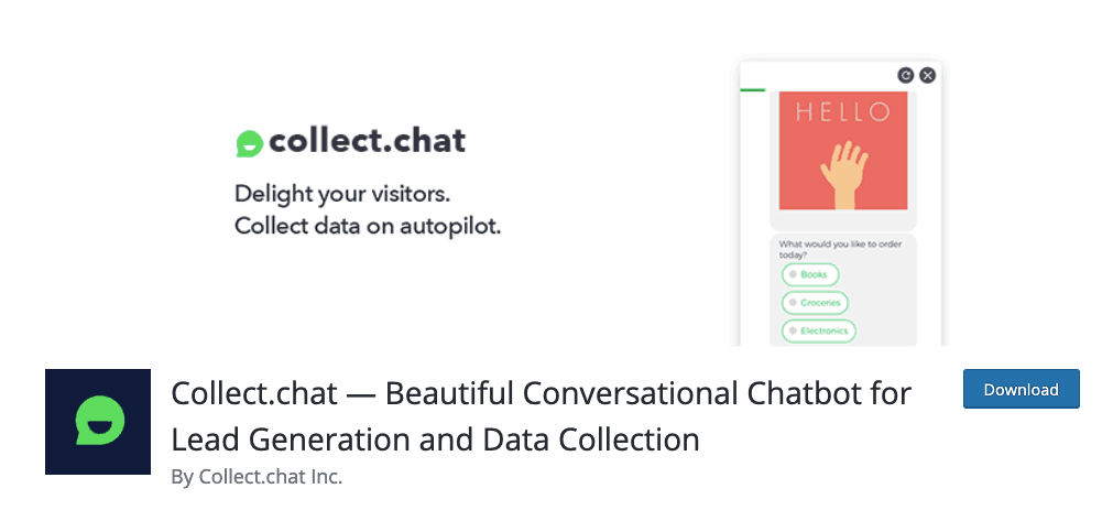 Collect chat