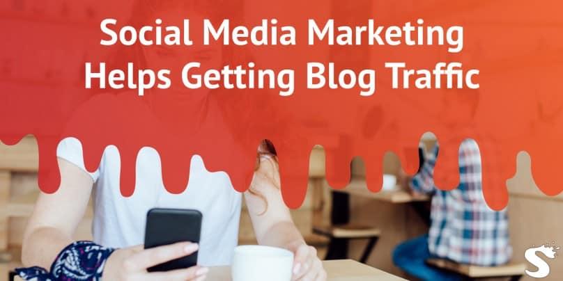 Social media marketing blog traffic