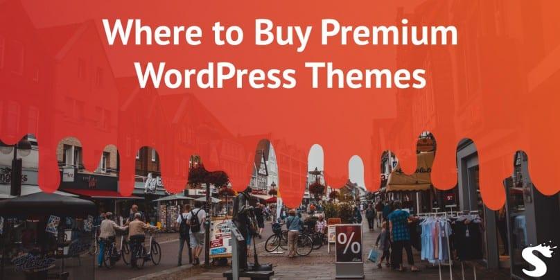 Where to buy premium WordPress themes