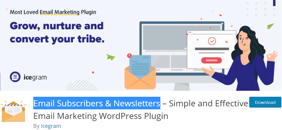 Email Subscribers & Newsletters plugin