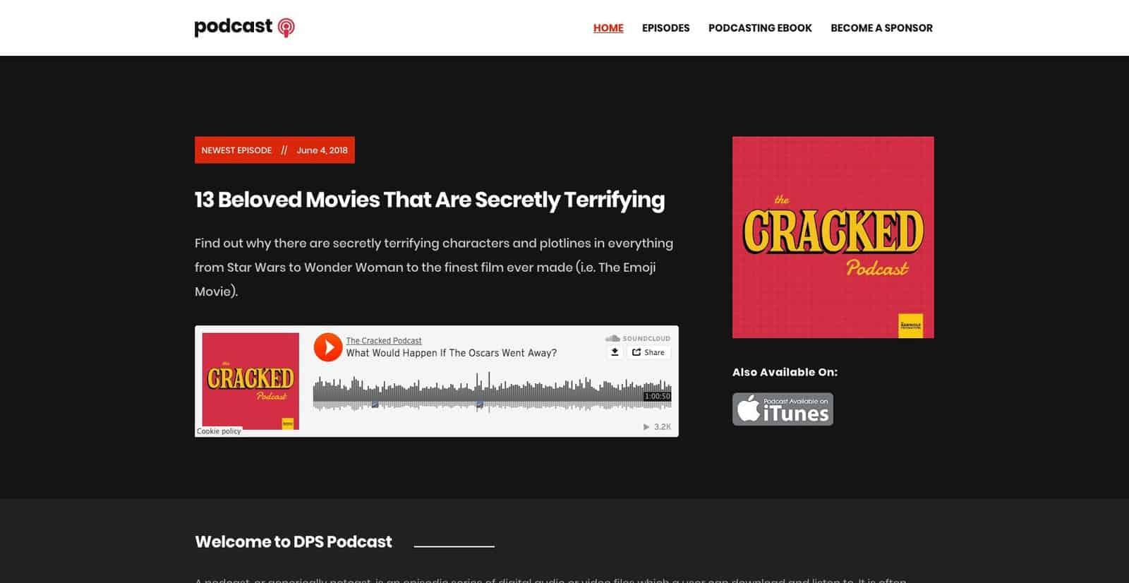 Podcast theme