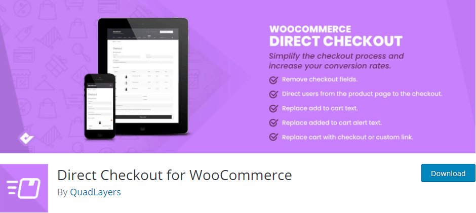 Direct Checkout plugin