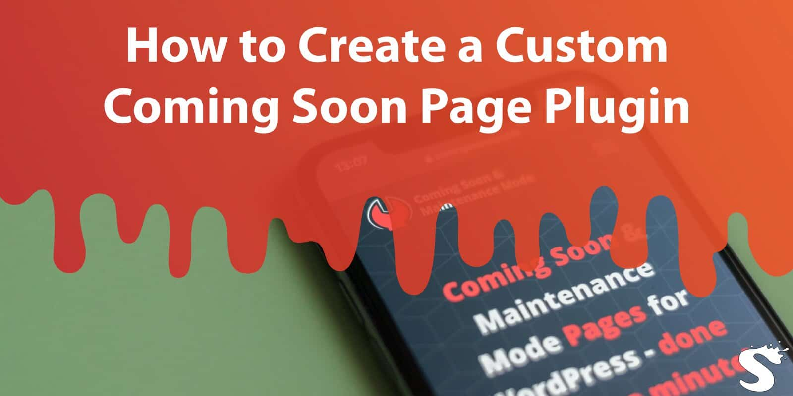 How to Create a Custom Coming Soon Page Plugin