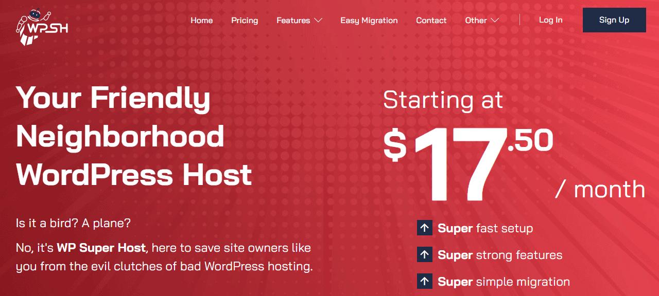 WP Super Host