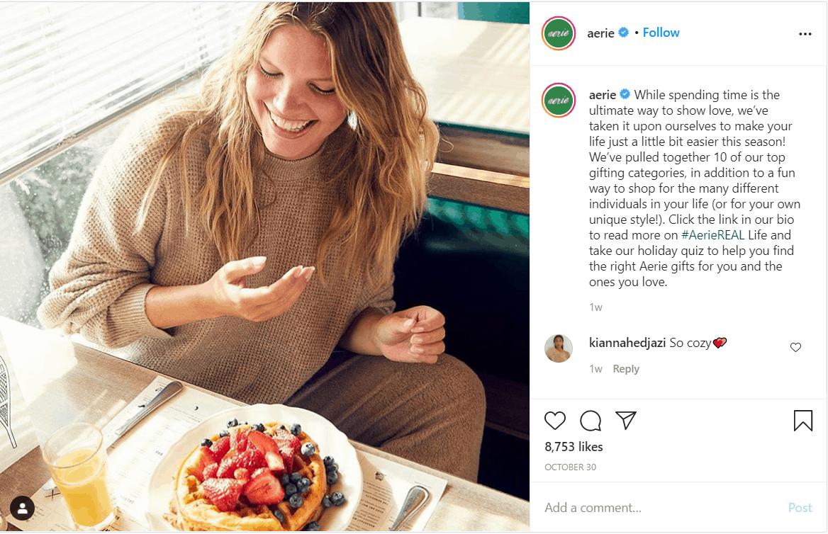 Aerie Instagram