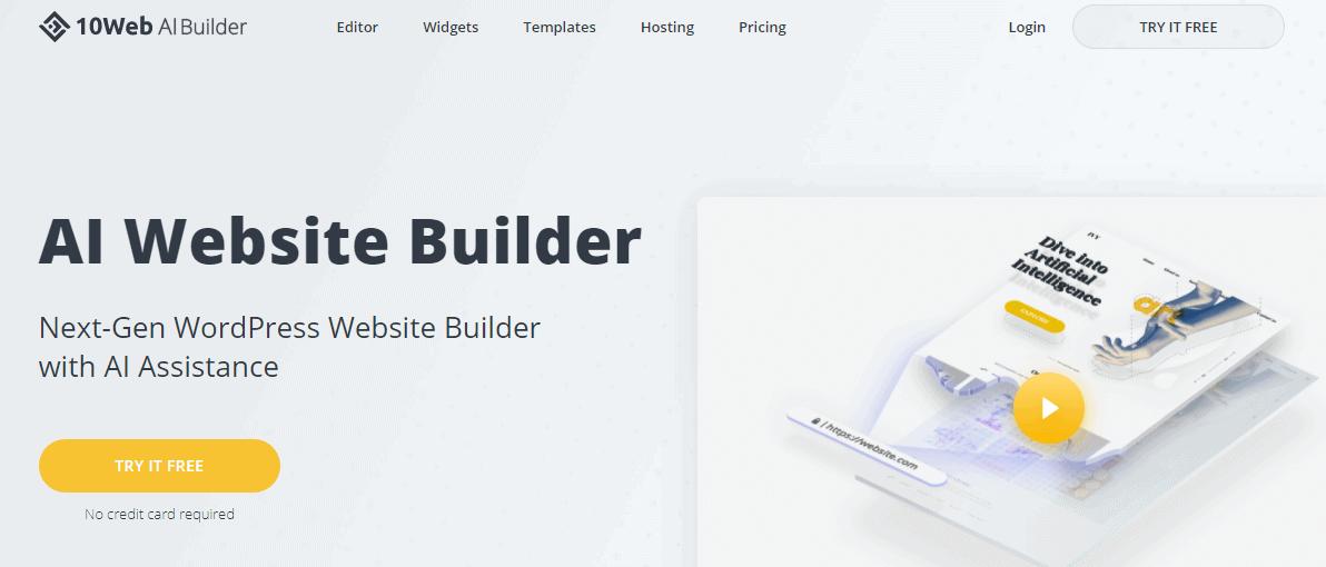 10Web AI Builder