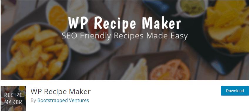 WP Recipe Maker