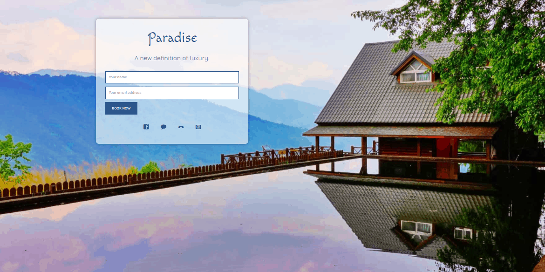 Coming Soon & Maintenance Mode plugin travel blog theme