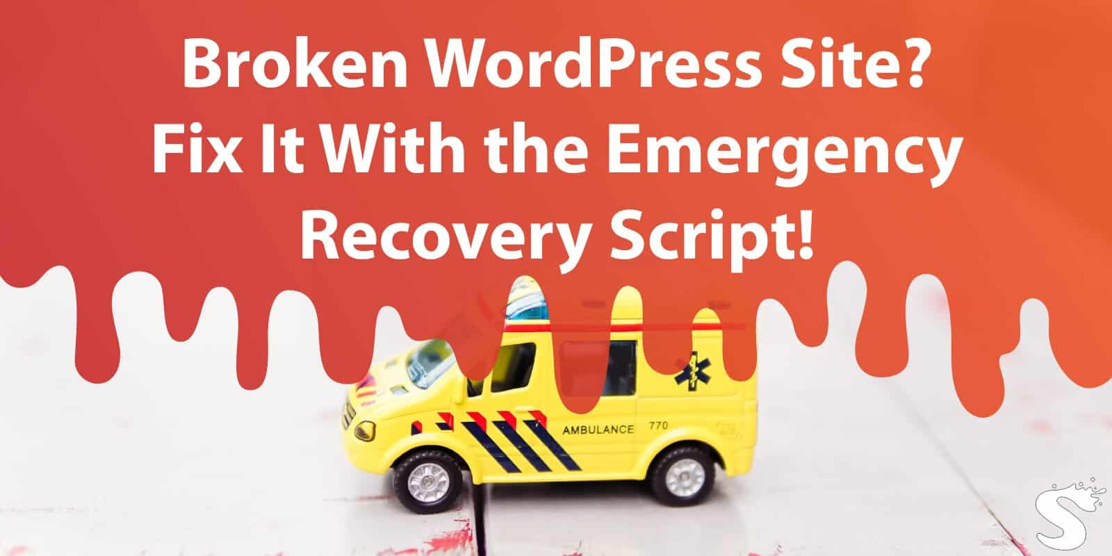 Broken WordPress Site? Fix It With the Free Emergency Recovery Script!