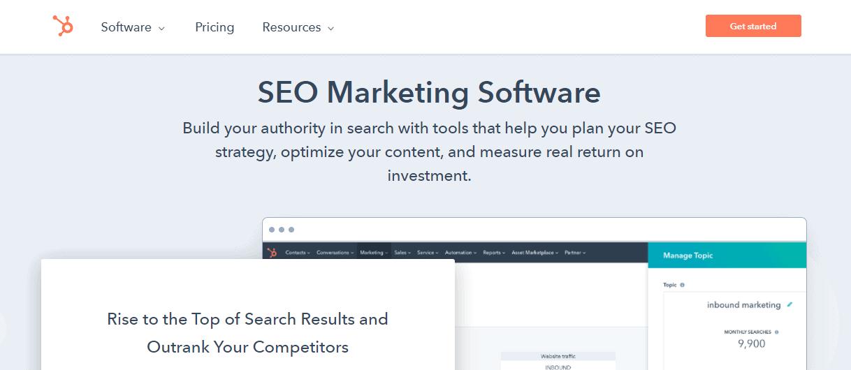 HubSpot's SEO tools