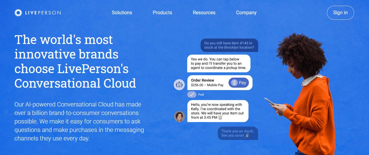 LivePerson's Conversational Cloud