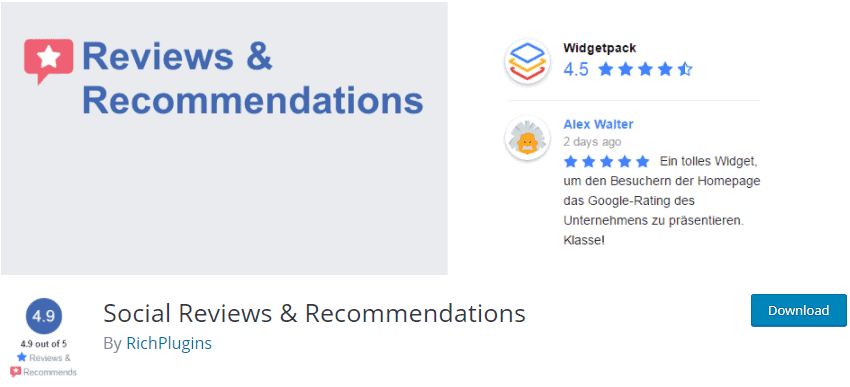 Social Reviews & Recommendations