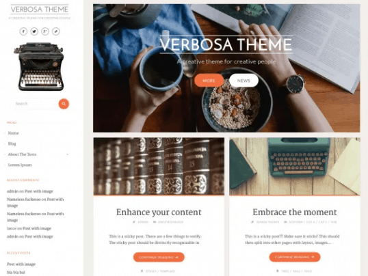 Verbosa theme