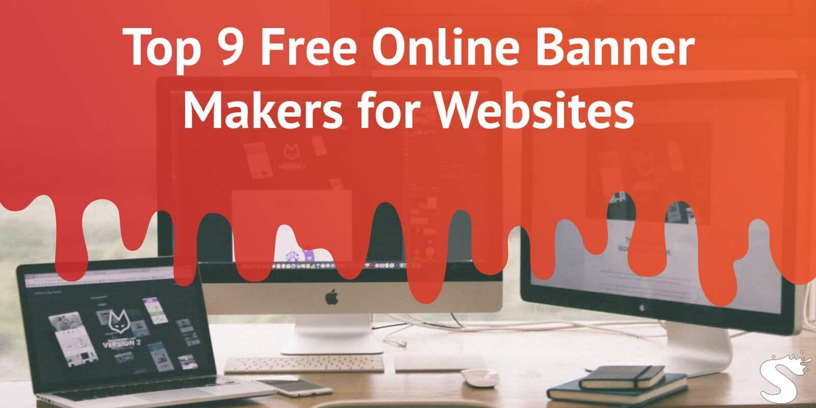 Top 9 free online banner makers for websites